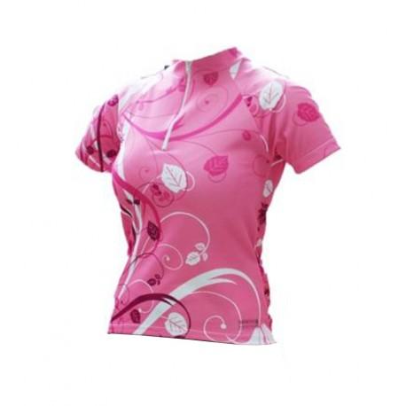 Camisa Ciclista Floral Reflex - Refactor
