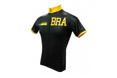 Camisa Ciclista Brasil Dark - Free Force
