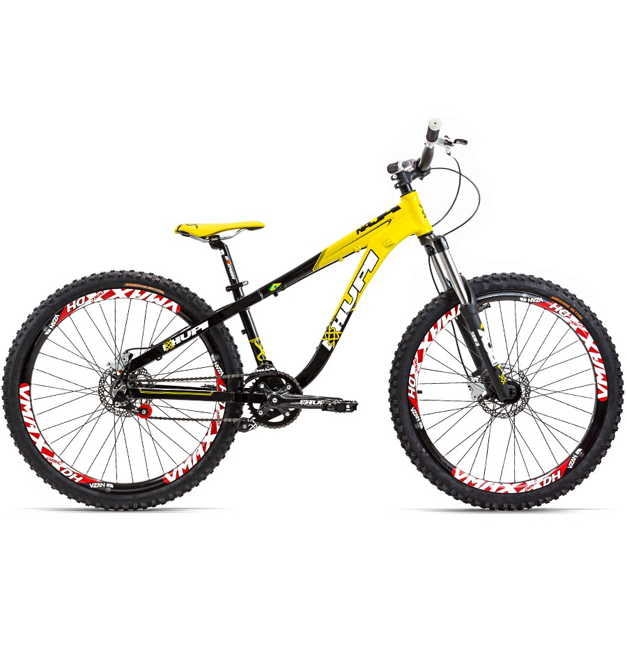 Bicicleta 26 Freeride Hupi Naja Freio Hidráulico