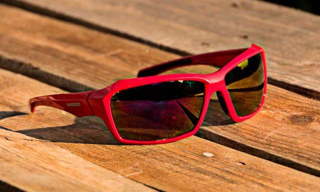 Estudo: Óculos de ciclismo Shimano. Design