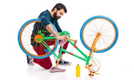 Como limpar a transmissão da bicicleta
